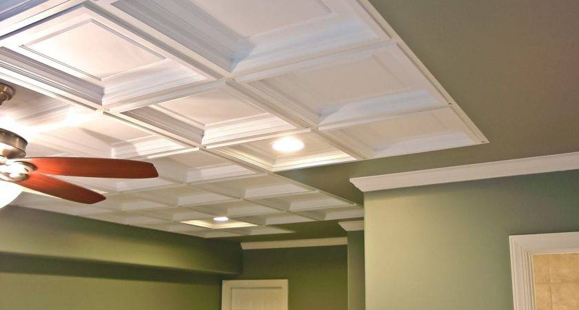 Some Ideas Drop Ceiling Tiles Wooden Houses
