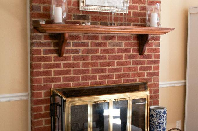Some Options Contemporary Brick Fireplace Makeover