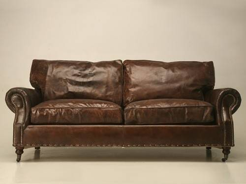 Something Sink Into Sumptuous Leather Couches