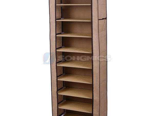 Songmics Shoe Rack Shoes Cabinet Stand Standing Storage