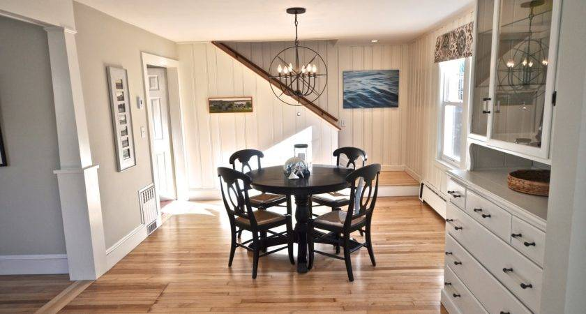 Sopo Cottage Dining Room Foyer Before After