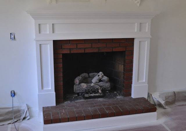 Sopo Cottage Fireplace Mantle