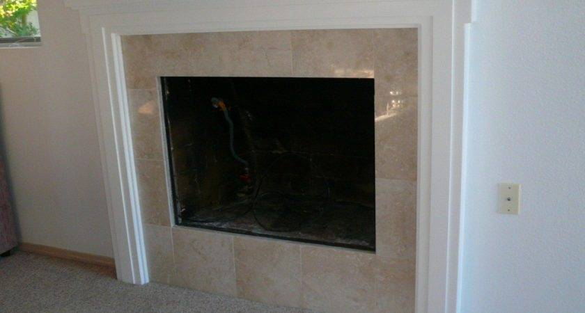South Bellevue Fireplace Facelift Inside Out Renovation