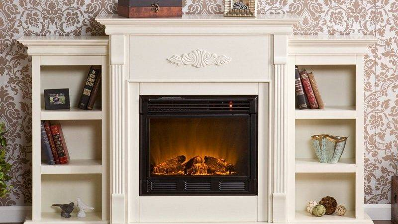 Southern Enterprises Griffin Electric Fireplace