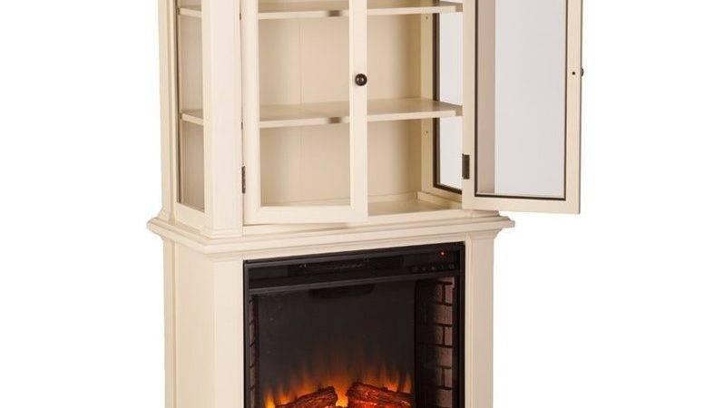 Southern Enterprises Townsend Electric Fireplace Bookcase
