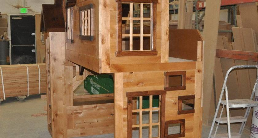 Spanky Clubhouse Bunk Bed Custom Designed Tanglewood