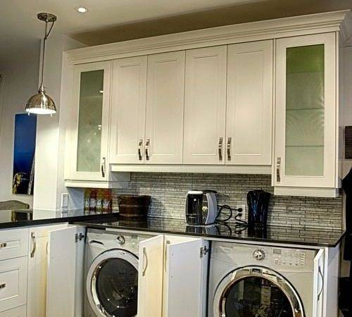 Splendid Laundry Room Solutions Traditional Kitchen