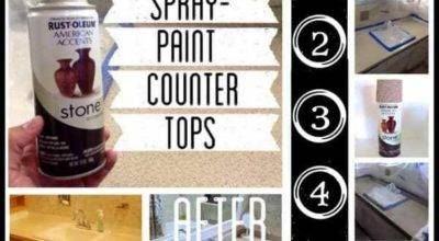Spray Paint Countertops