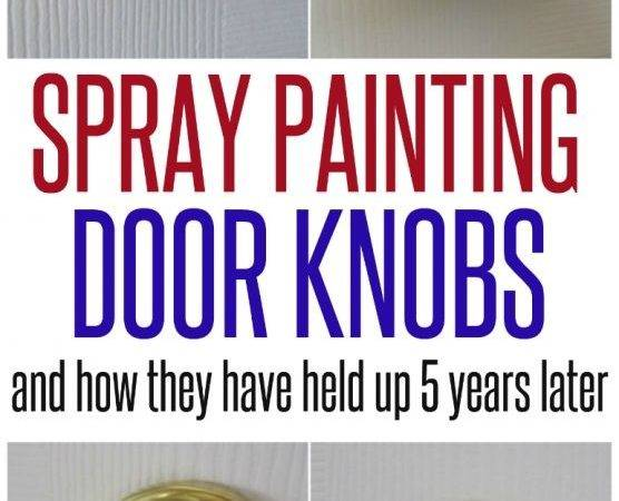 Spray Painted Doorknobs Infarrantly Creative