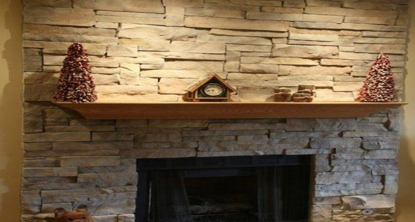 Stacked Stone Fireplace Surround Bestsciaticatreatments