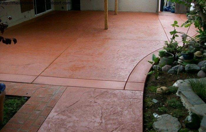 Stain Concrete Patio Yourself Outdoor Goods