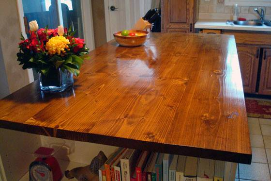 Stain Waterproof Wood Countertop Home