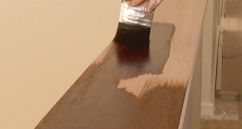 Stain Wood Apply Get