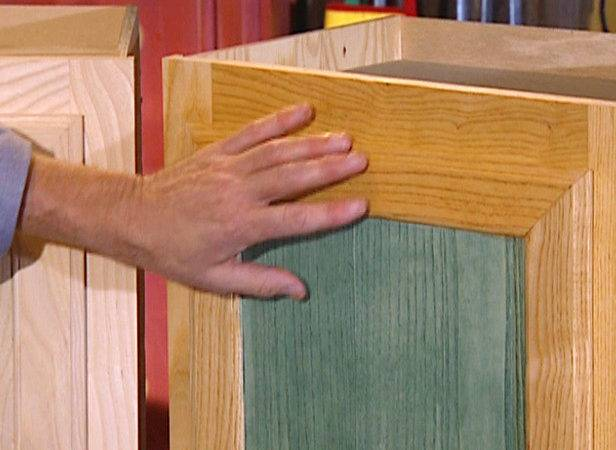 Stain Wood Cabinets Tos Diy