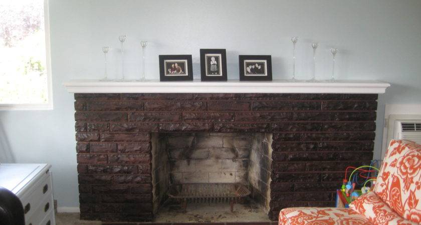 Staining Fireplace Room Think