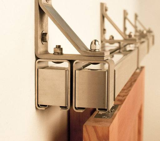 Stainless Box Rail Bypass Hardware Real Sliding