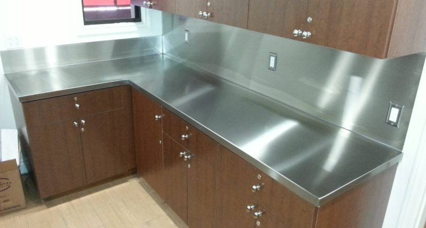 Stainless Steel Countertop Backsplash Jnl