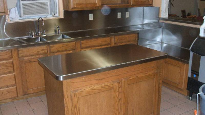 Stainless Steel Countertops Diy