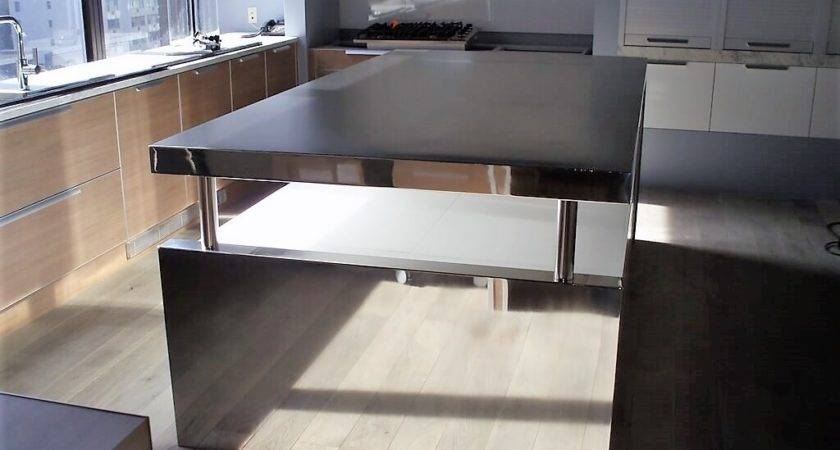 Stainless Steel Island Countertops