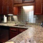Stainless Steel Metal Backsplash Wall