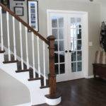 Stairs Entryway Makeover Addition Oaks