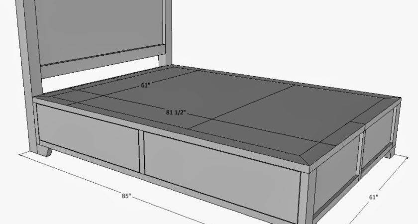 Standard Queen Bed Measurements One Thousand Designs