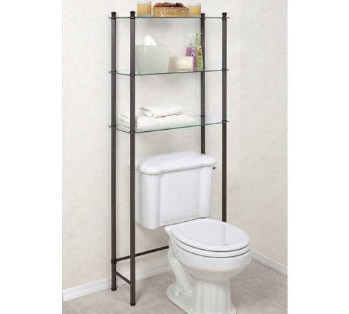 Standing Bathroom Shelf Over Toilet Shelving