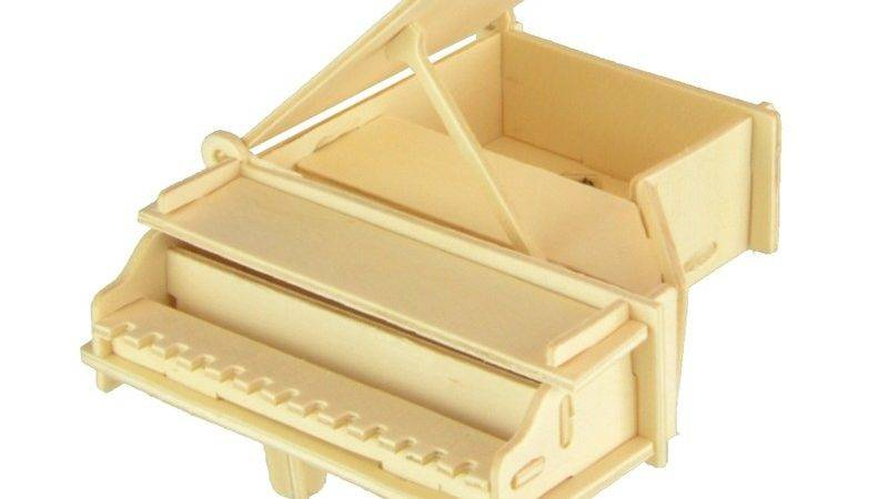 Starz Wooden Musical Instruments Piano Puzzles Toys