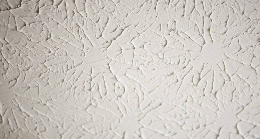 Stippled Ceiling Cover Don Options