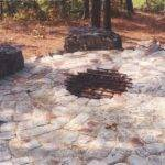 Stone Fire Pit Casual Cottage