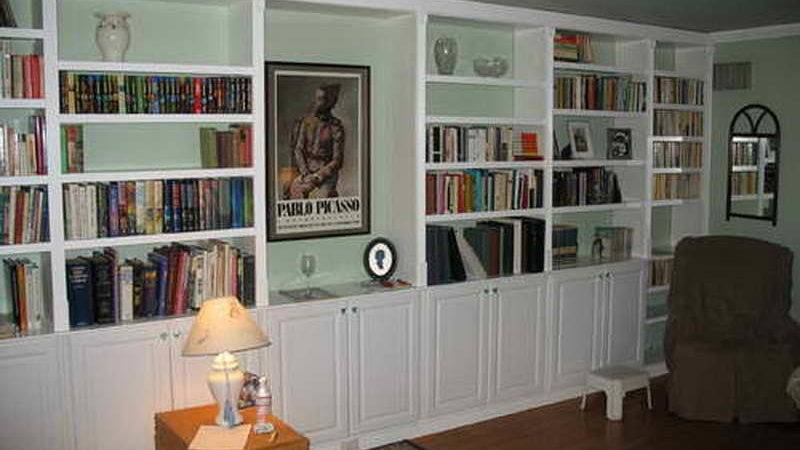 Storage Diy Built Large Bookshelves