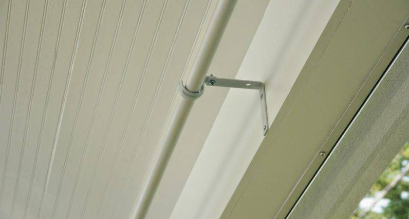 Strawberry Jam House Pvc Pipe Curtain Rods