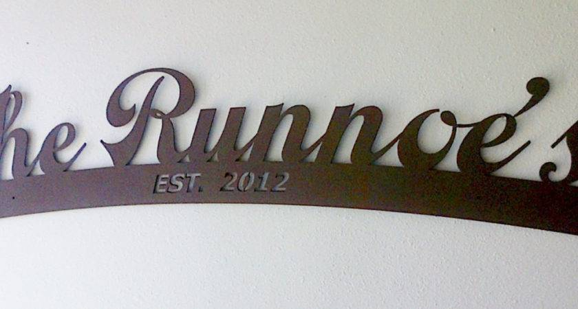Stunning Personalized Wall Art Last Name