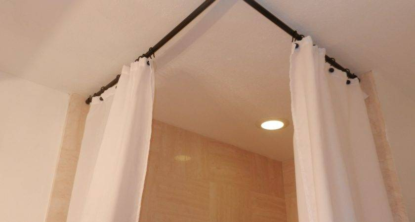 Stupendous Hang Curtain Rods Ceiling