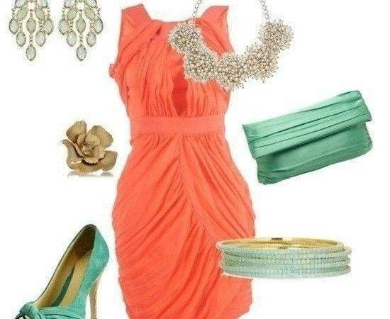 Style Guide Chic Ways Wear Coral Turquoise