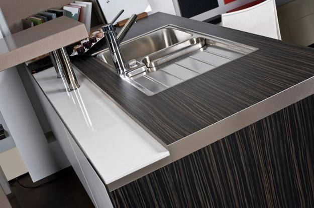 Stylish Metal Kitchen Countertop Ideas Giving Industrial