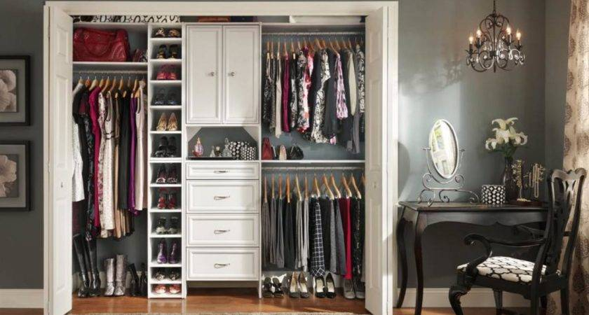 Stylish Reach Closets Home Remodeling Ideas