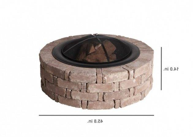 Stylish Round Fire Pit Insert Home
