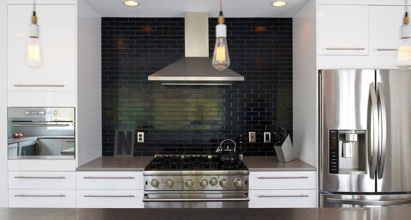 Subway Tile Backsplash Ideas Kitchen Traditional Azul