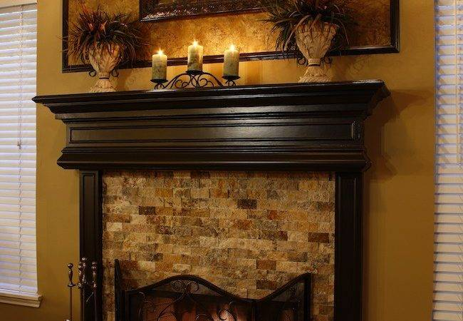 Sugar Land Glen Laurel Kitchen Fireplace Remodel