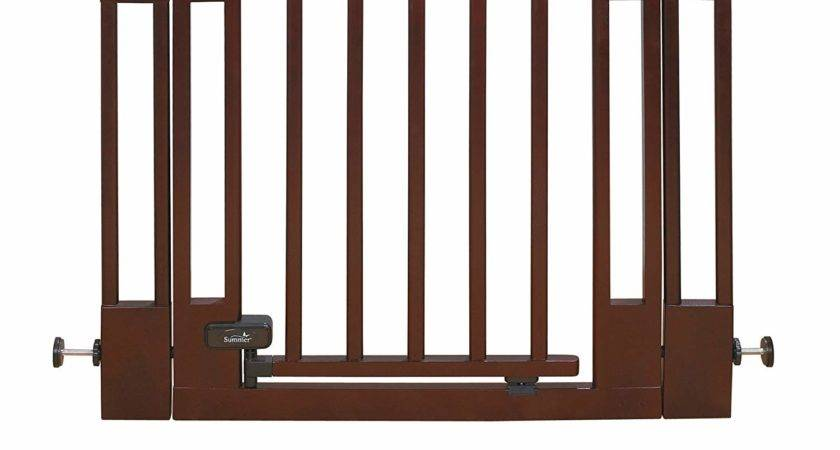 Summer Deluxe Top Stairs Wood Walk Thru Gate Reviews