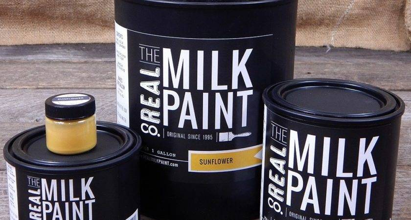 Sunflower Yellow Milk Paint Color Order Real