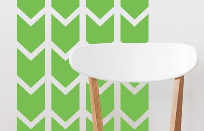 Sunny Decals Chevron Arrows Fabric Wall Decal Reviews