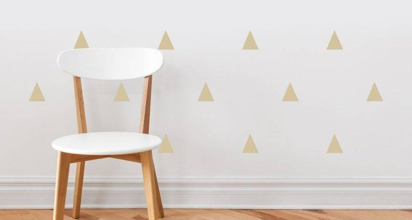 Sunny Decals Triangle Fabric Wall Decal Reviews Wayfair