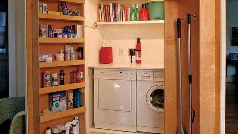 Super Clever Laundry Room Storage Solutions Owner