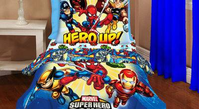Superhero Squad Piece Toddler Bedding Set Walmart