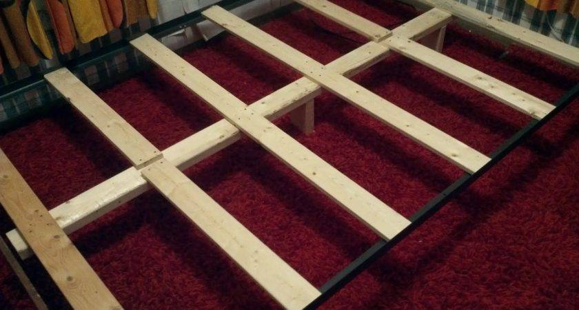 Support Mattress Without Box Spring Build