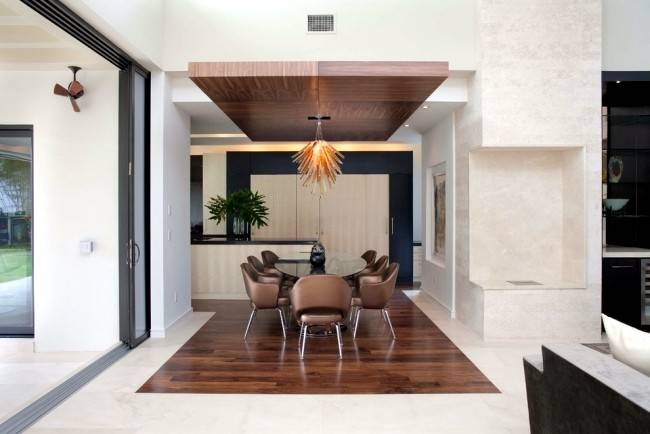 Suspended Ceiling Ideas Wood Design Contemporary