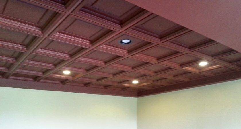Suspended Ceiling Tile Ceilume Madison Faux