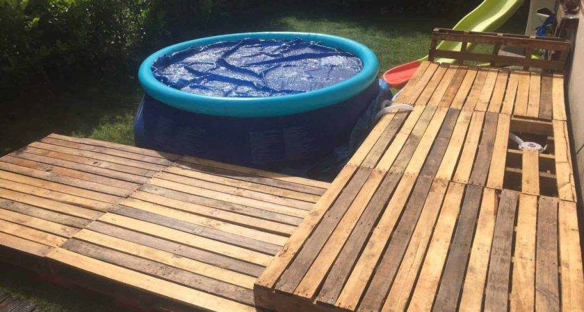 Swimming Pool Pallet Deck Pallets